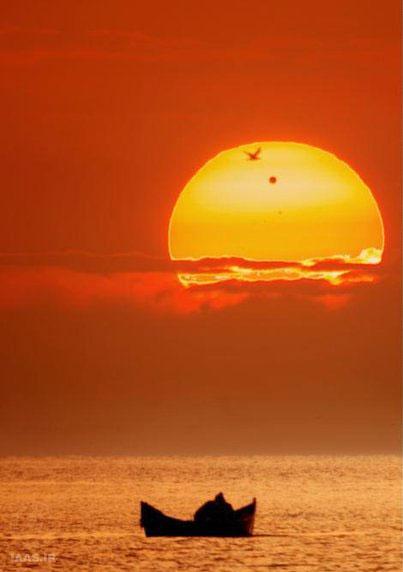 عبور سیاره ناهید از برابر خورشید توسط الکساندرو کانو