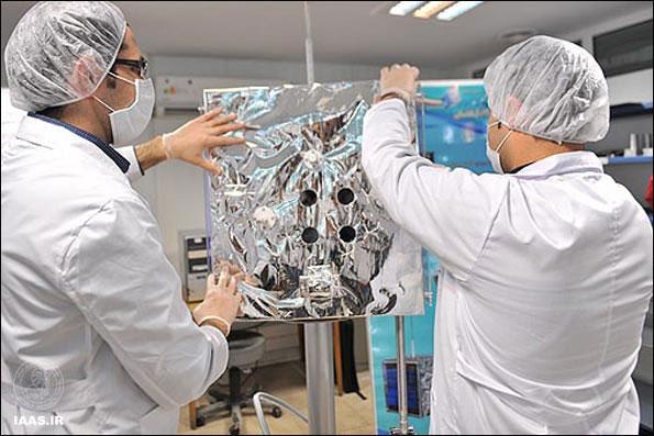 ماهواره آتست دانشگاه امیرکبیر که در انتظار پرتاب است