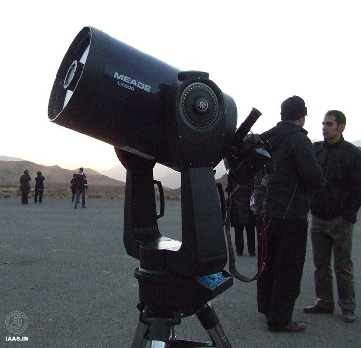 تلسکوپ 10 اینج برنامه - عکاس: آرش عتیقی
