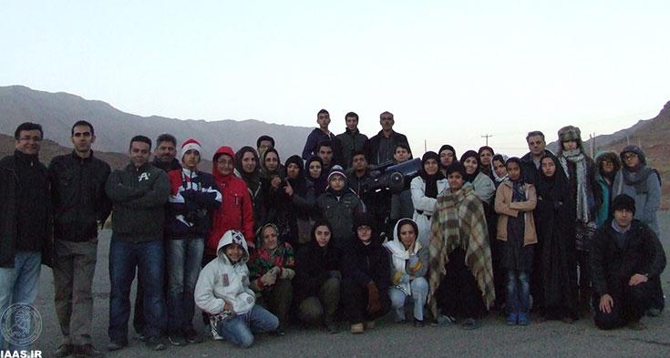عکس دسته جمعی پایان برنامه - عکاس: مسعود عتیقی