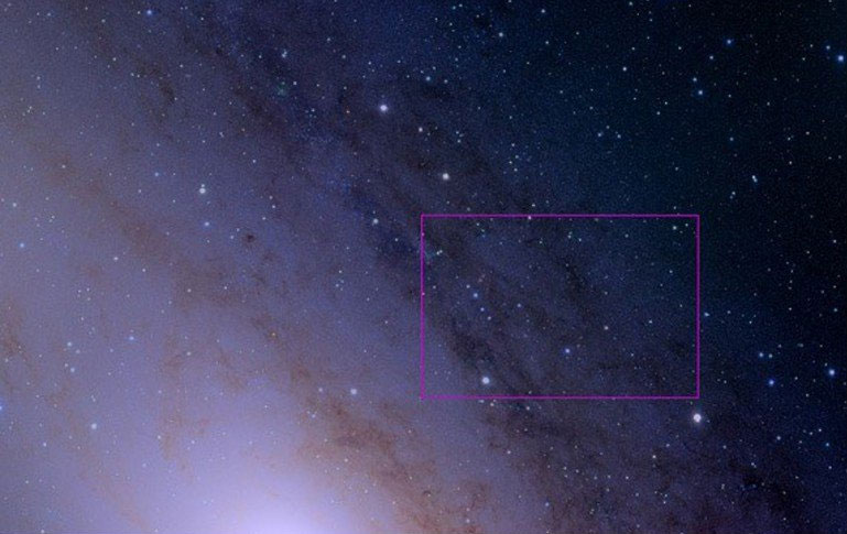هسته کهکشان آندرومدا