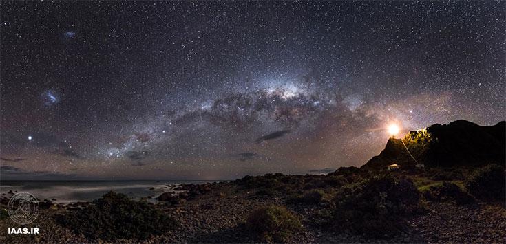 نور پرچمدار به سمت ستارگان - بهترین عکس نجومی سال 2013 - عکاس: مارک جی
