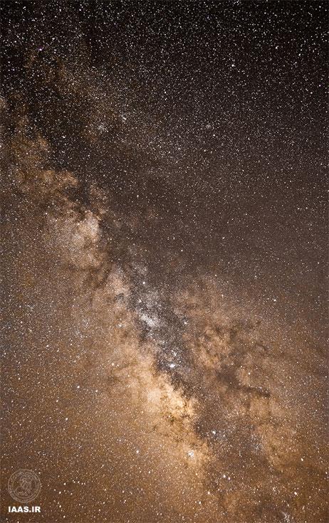 کهکشان راهشیری - عکاس: جاکو ماچیو