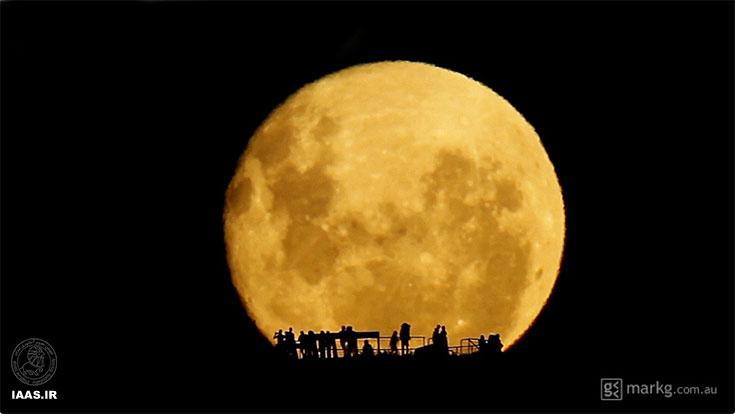اشباح ماه - عکاس: مارک جی
