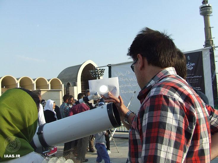 گرامی داشت هفته جهانی نجوم در نمایشگاه کتاب تهران