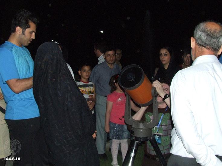 گرامی داشت هفته جهانی نجوم در بوستان لاله تهران