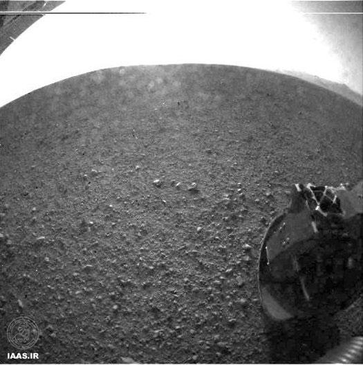 اولین تصاویر ارسالی به زمین توسط کنجکاوی