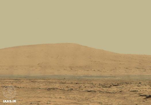 تصویر پانورامای 1 میلیارد پیکسلی از مریخ