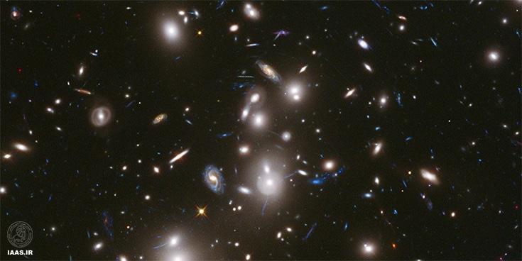 هزاران کهکشان فقط در منطقهی 2744 هابیل
