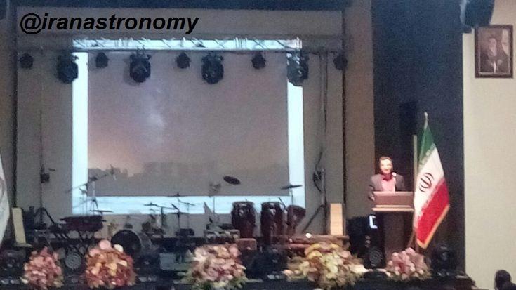 خیرمقدم مهندس عتیقی مدیریت انجمن به میهمانان مراسم هفدهمین سالروز تاسیس
