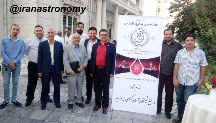 عکس یادگاری در هفدهمین سالروز تاسیس با حضور فعالان گذشته تا امروز انجمن