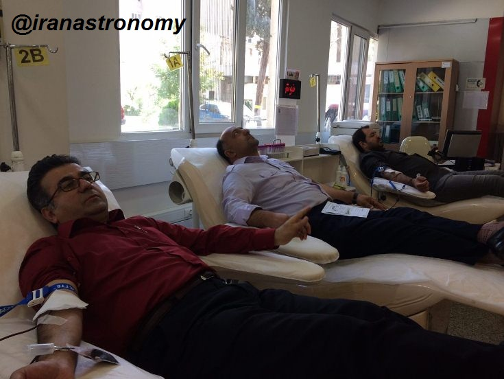 دو صد گفته چون نیم کردار نیست. اهدا خون به عنوان گام عملی برگزار کنندگان هفدهیمن سالروز در ترویج فرهنگ اهدا