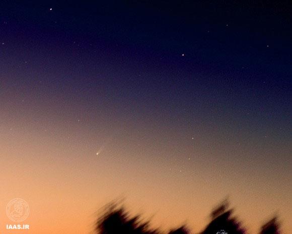 دنباله دار آیسان،اورگان،ایالت متحده امریکا 22 نوامبر 2013