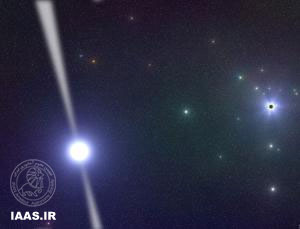 کشف یک آهنربا در قلب کهکشان راه شیری