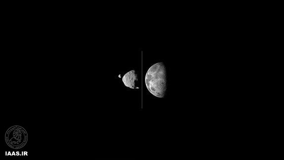 رصد نخستین گذر قمرهای مریخ از مقابل یکدیگر توسط «کنجکاوی»