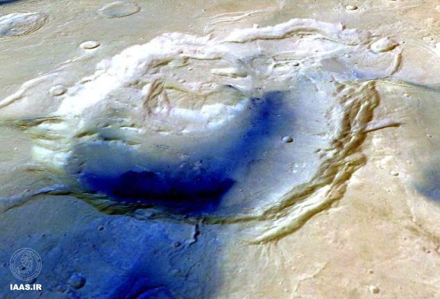 کشف نشانههایی از فعالیت ابرآتشفشانها در مریخ باستانی