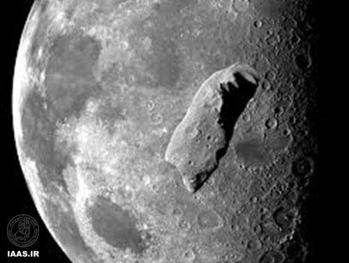 ماه، کیسه مشت زنی سنگ های فضایی