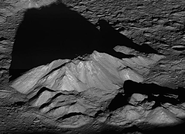 دهانه برخوردی ماه ناشی از برخورد سیارکها