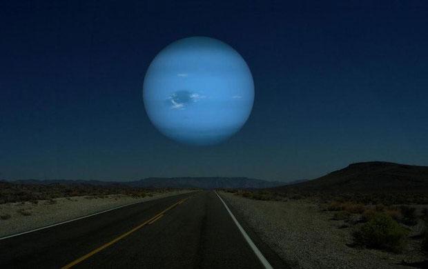 اگر نپتون جایگزین ماه شود