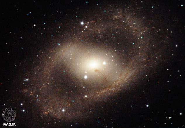 حلقه شکل گیری ستارگان در کهکشان NGC6300