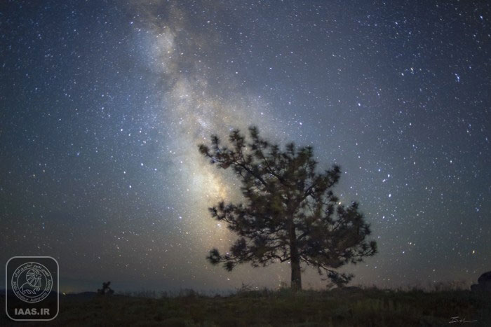عکاسی از آسمان شب - عکاس: بن کانالز