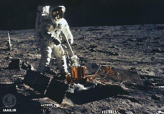 استفاده از لرزه سنج برای بررسی ماه لرزه های خفیف