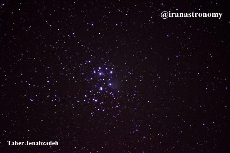 اعماق آسمان- خوشه باز ستاره ای پروین M45