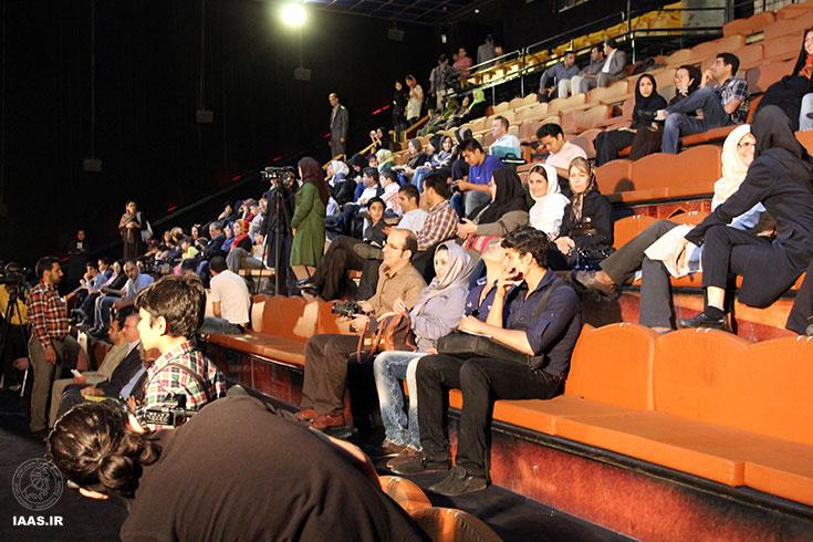 حضور شرکت کنندگان در سالن