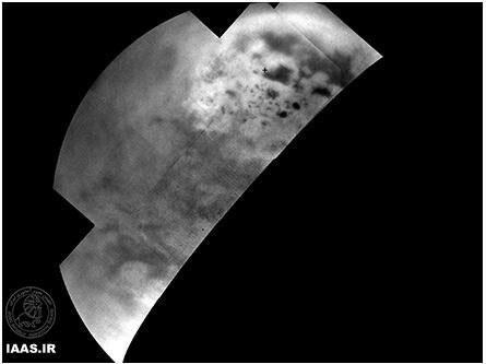 تصاویر جدید کاسینی از قطب شمال قمر تیتان