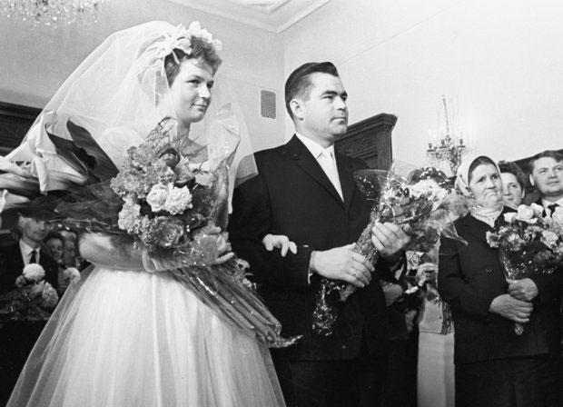 ازدواج نخستین زوج فضانورد